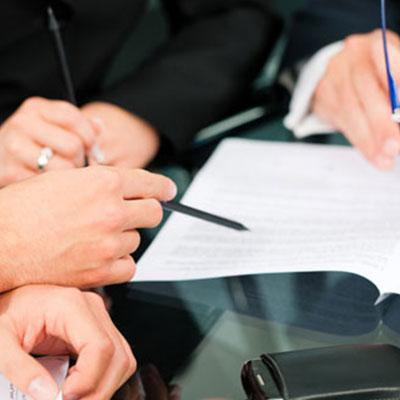 Contrat de travail signature