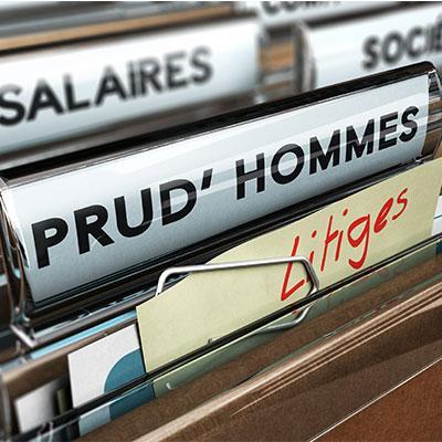 Dossier prud'hommes litiges